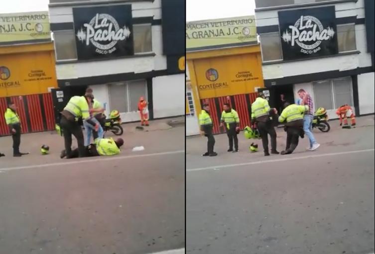 Policías de Tunja