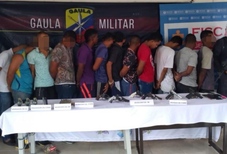 Presuntos responsables de masacre en Cáceres.