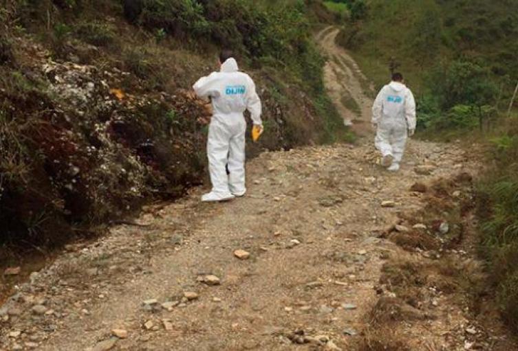 Las dos muertes violentas se reportaron en los municipios de Santa Bárbara y Guadalupe