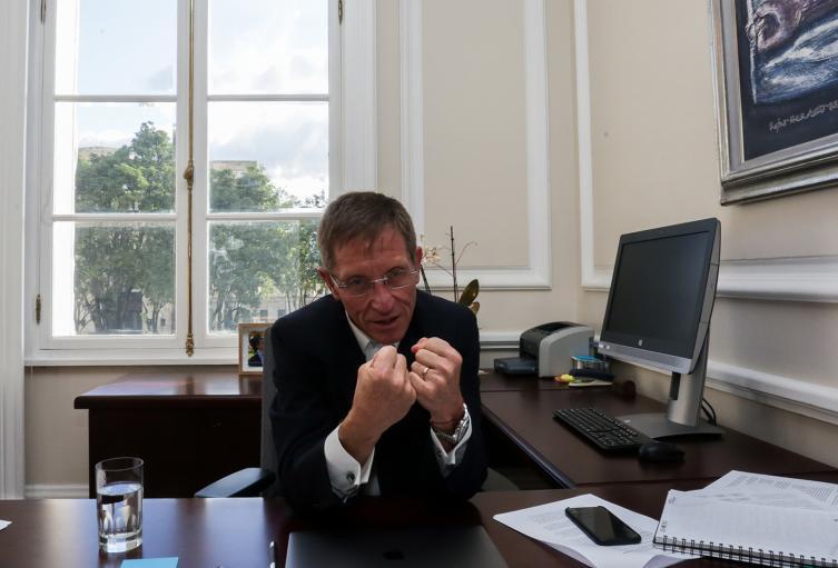 Emilio Archila, alto consejero para la estabilización y el posconflicto