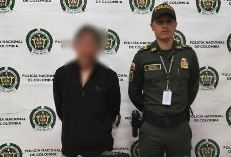 Capturan a ciudadano estadounidense con droga en Rionegro