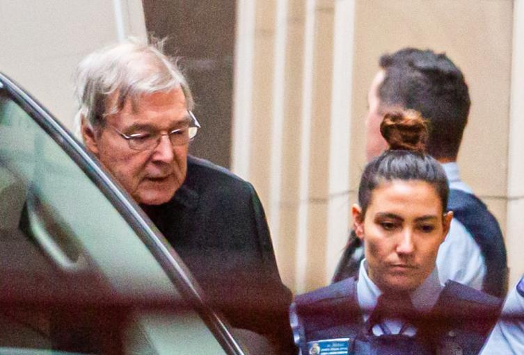 Cardenal australiano George Pell
