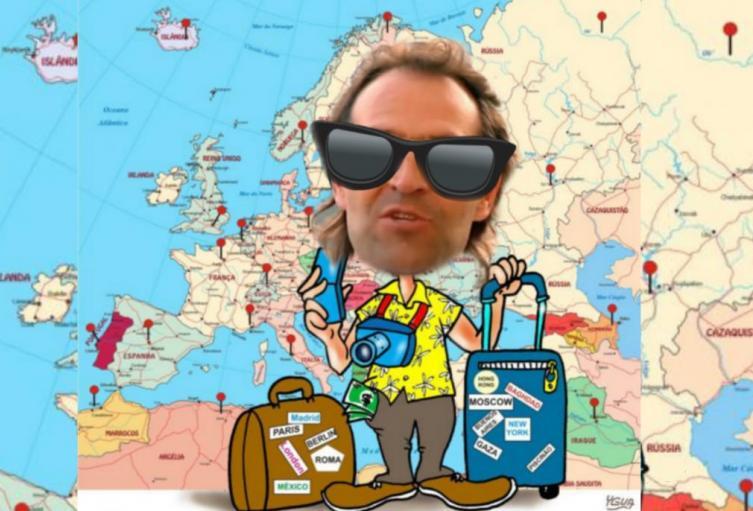 Alcalde justificó 32 de sus viajes al exterior