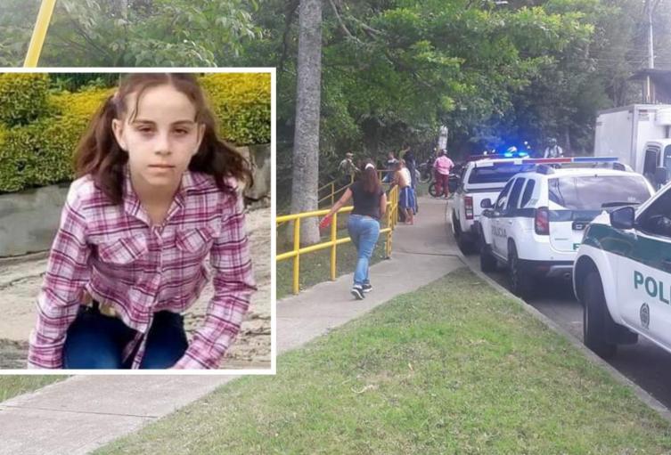 Asesinan a niña de 12 años en Medellín