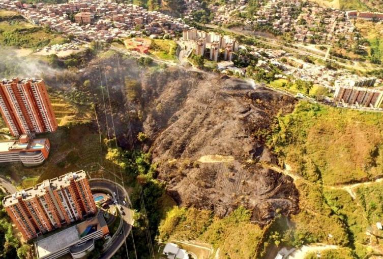 Incendios forestales en Medellín