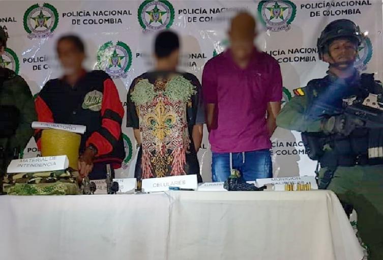 Capturan a presuntos responsables de la masacre en Segovia.