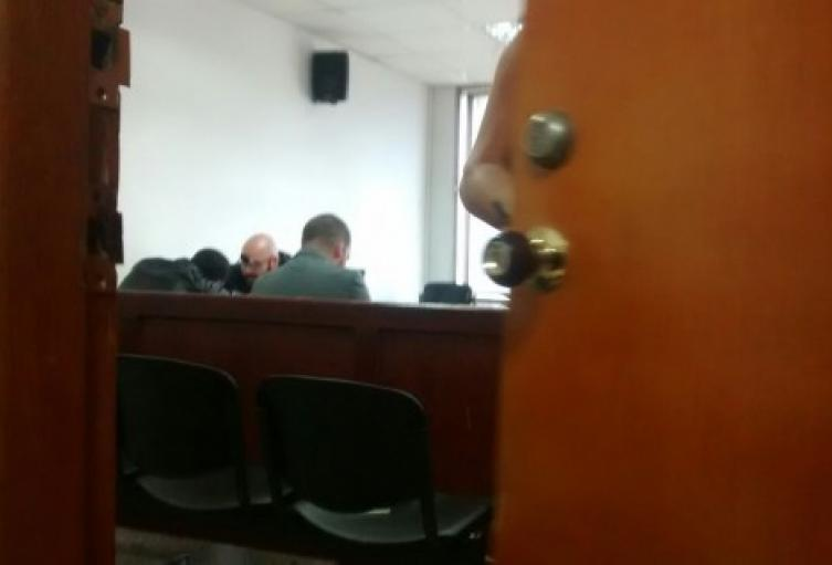 Audiencia contra exsargento  Richard Antonio Pérez.