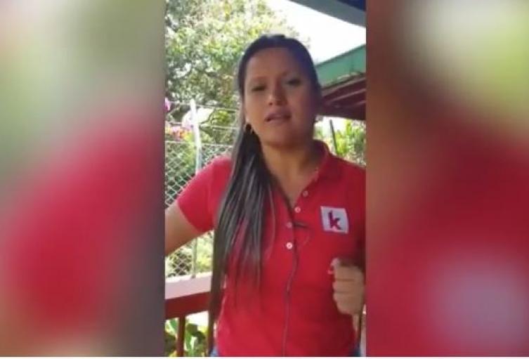 Karina García, candidata a la alcaldía de Suárez (Cauca), asesinada en esa región.