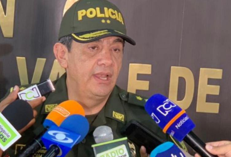 General Eliécer Camacho  aseguró el refuerzo de 50 uniformados en el corregimiento Altavista