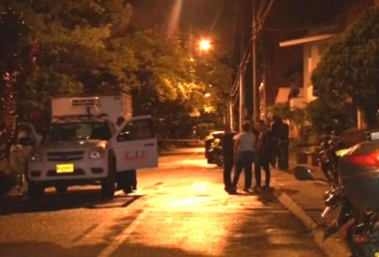 Balacera dejó un muerto y un herido en el barrio Belén Rincón de Medellín