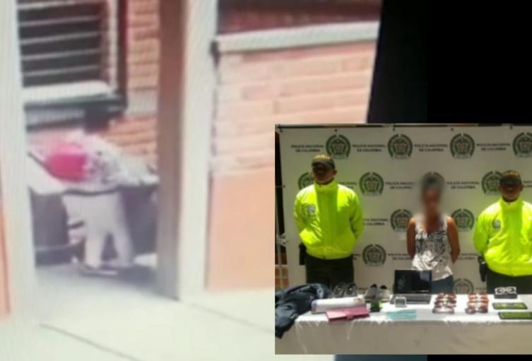 Capturan a empleada de servicio doméstico por el hurto de 30 millones de pesos