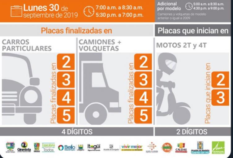 Hoy comienza el estado de prevención por la calidad del aire en Medellín