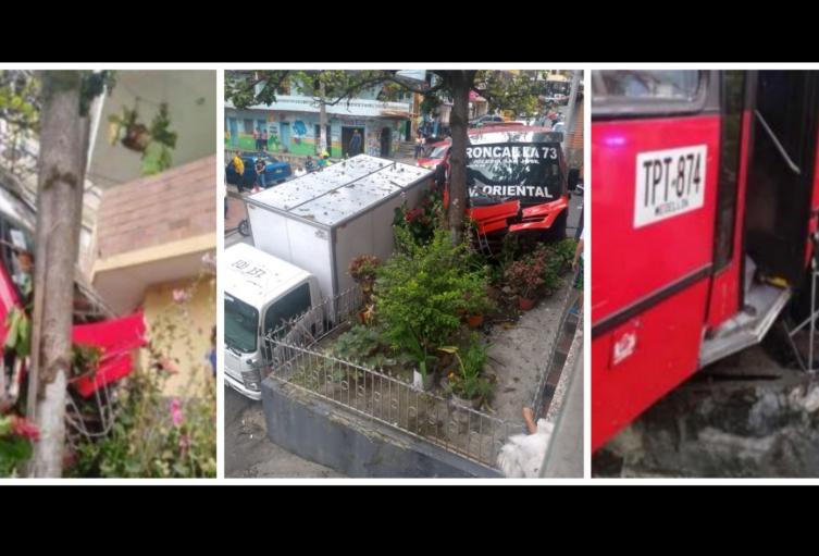 Tres personas lesionadas dejó un accidente de tránsito en Castilla