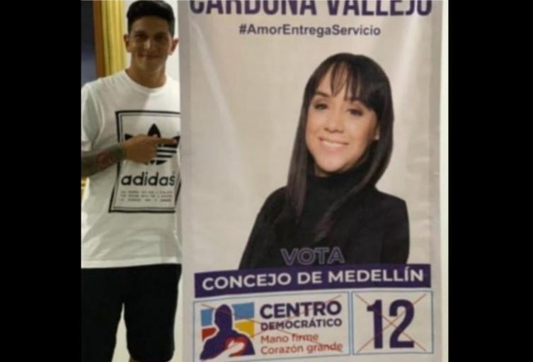 Germán Cano, en el ojo de la polémica por una foto con candidato del Centro Democrático