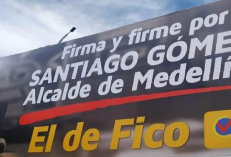 Piden al CNE investigar supuesto favorecimiento de Alcaldía a candidato en Medellín