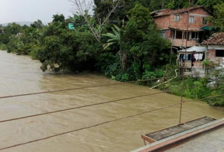 Los ríos son Man y Cáceres, ambos ubicado en ese municipio del Bajo Cauca, antioqueño.
