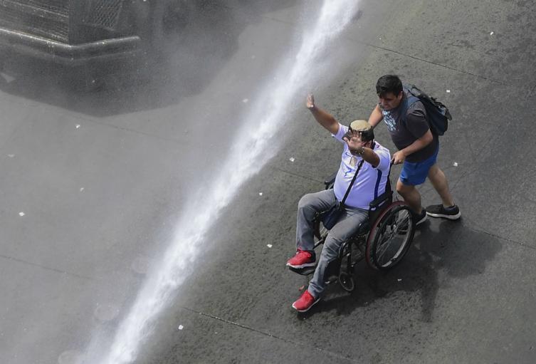 Violentas protestas