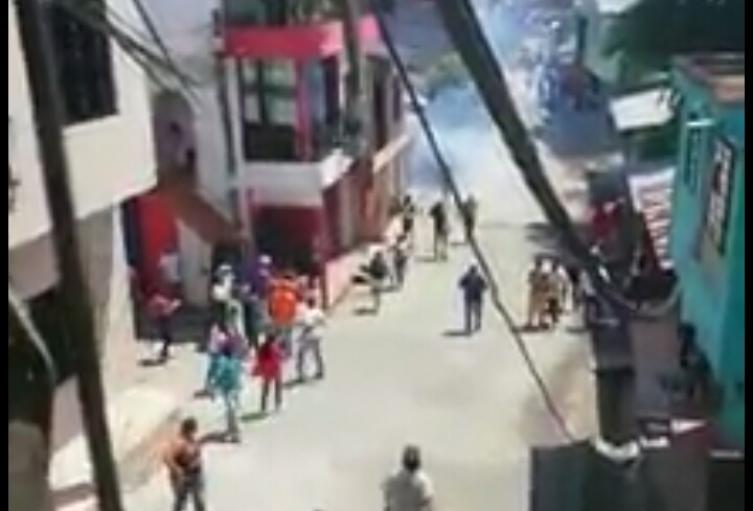 Disturbios en Tarazá, Antioquia