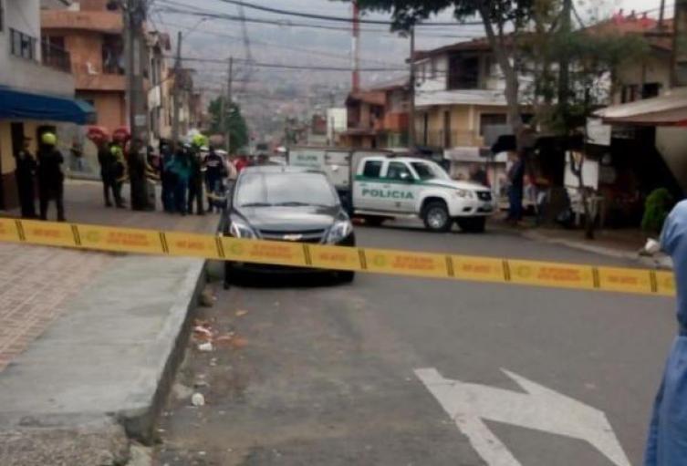 Homicidio en el barrio Pedregal de Medellín