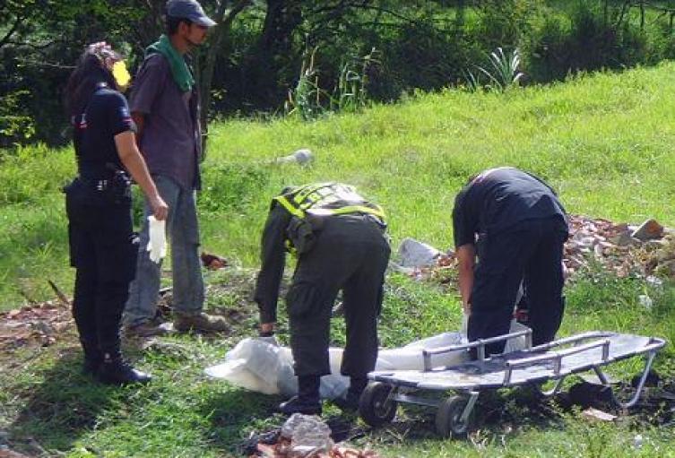 De varias puñaladas asesinaron a un joven en Barbosa, Antioquia