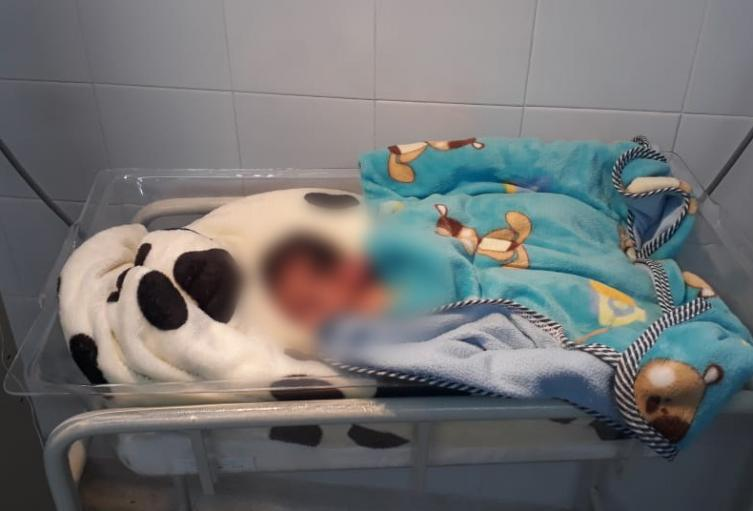 Rescatan a bebé que fue abandonado en manga de Toledo, Antioquia