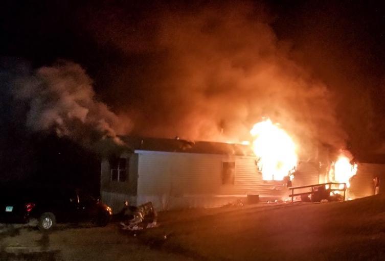 Incendio en Illinois
