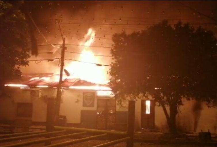 Incendio Alcaldía de Nechí, Antioquia