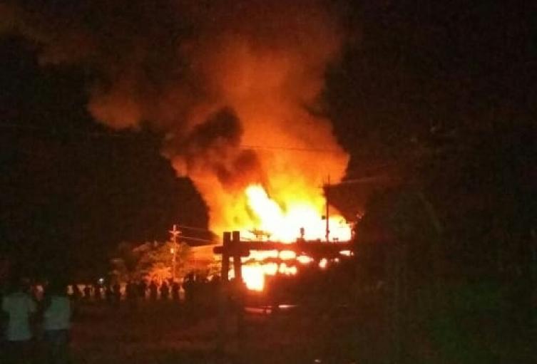 Incendio en Vigía del Fuerte, Antioquia