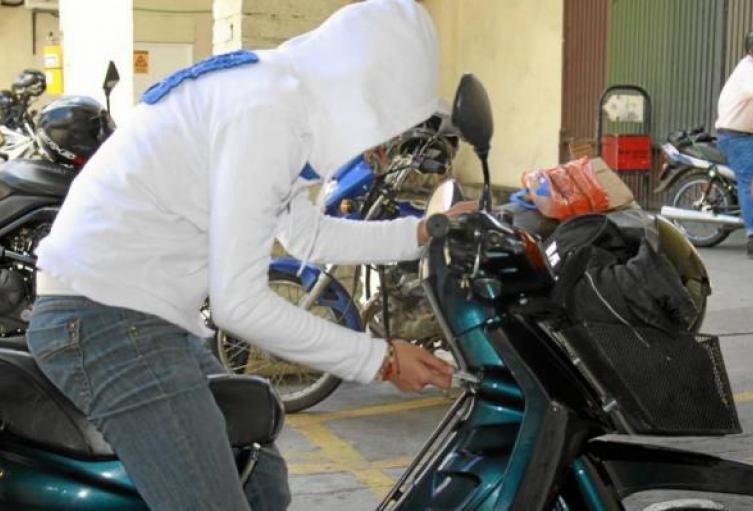 En Medellín se han robado más de tres mil motos