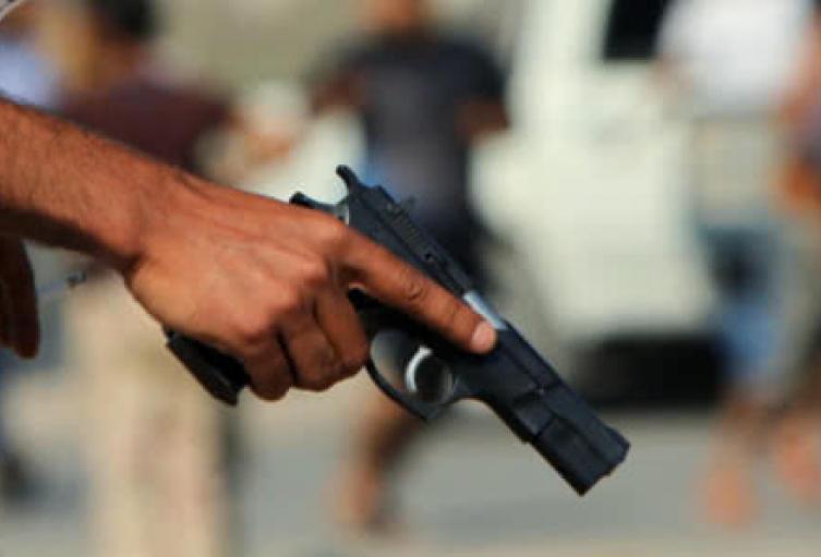 Este homicidio se presentó en pleno parque principal de este barrio del noroccidente de Medellín.