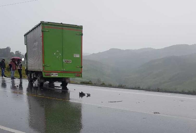 Accidentes de tránsito en Antioquia.