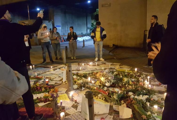 Manifestaciones tras muerte de Dilan