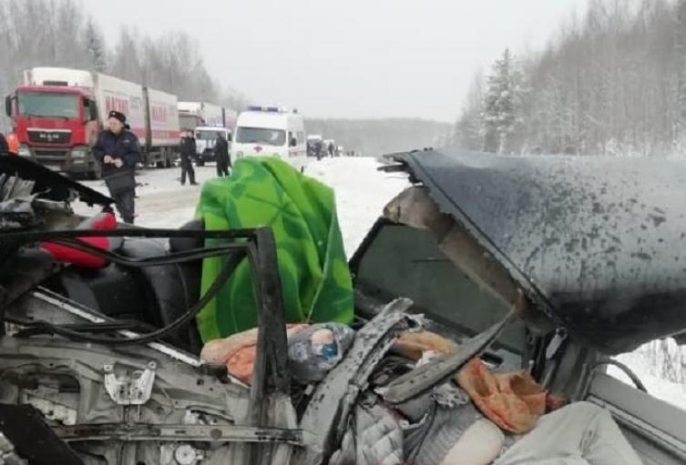 Accidente en Rusia