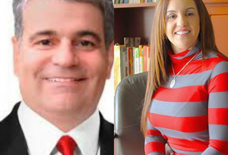 Héctor Londoño y Sara Cuervo, exalcaldes de Envigado
