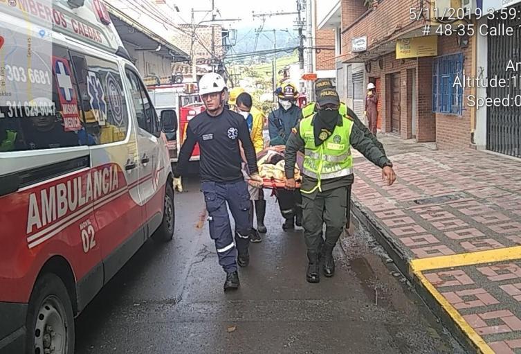 Fuga de gas en Caldas, Antioquia