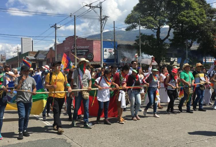 Indígenas y maestros rechazarán violencia contra las mujeres.