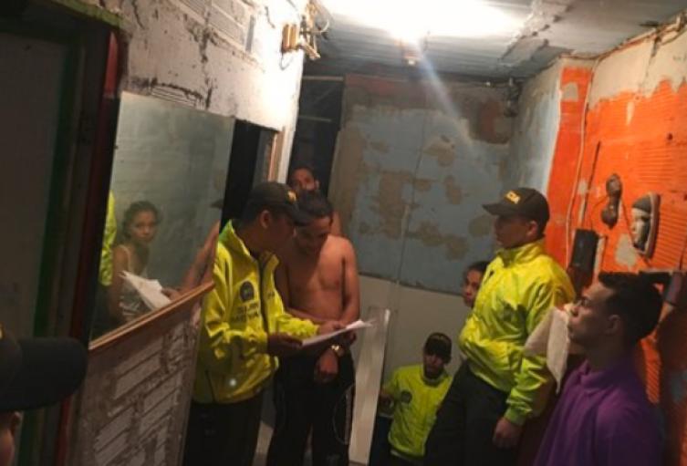 Policía infiltrado ayudó a capturar a 17 presuntos integrantes de red  criminal en Itagüí, Antioquia