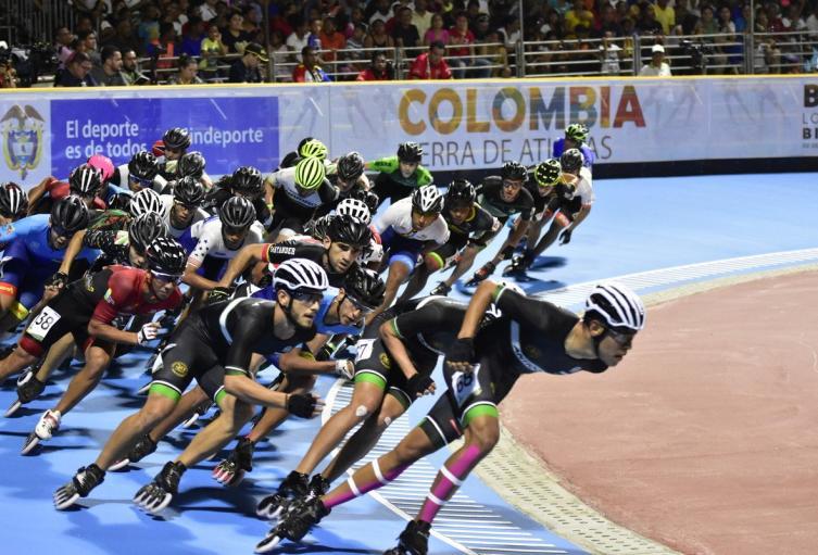Patinaje, Juegos Nacionales
