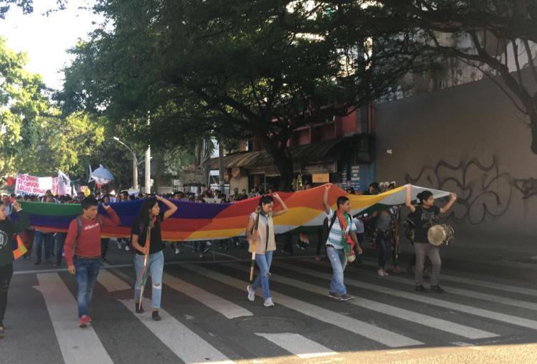 Paro nacional en Medellín.
