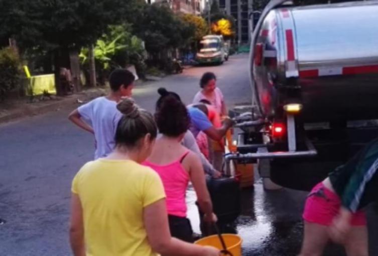25 barrios están sin agua en Bello