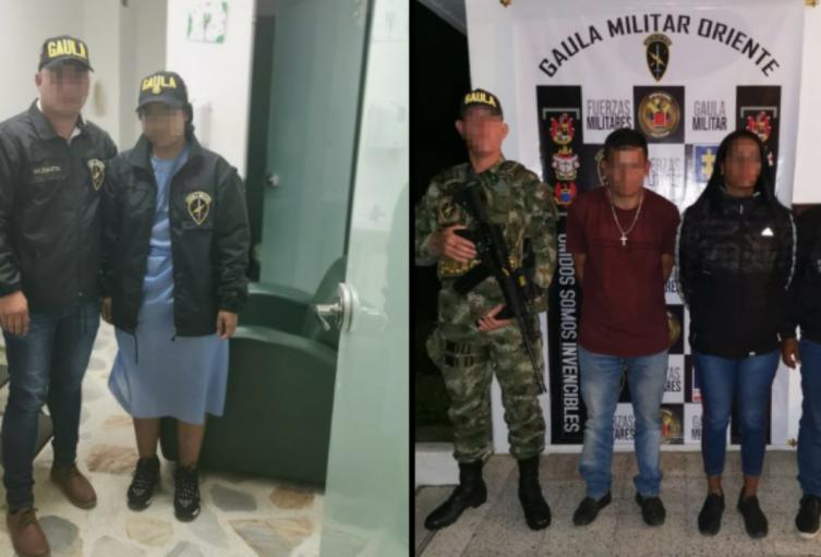 Los presuntos captores quienes pedían 250 millones de pesos, fueron detenidos