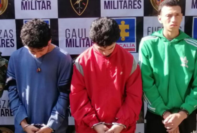 Los tres presuntos implicados fueron enviados a prisión.