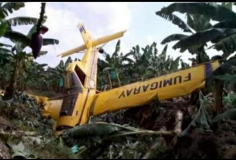 El piloto de la aeronave salió ileso del incidente