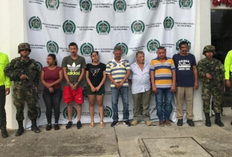 """Los detenidos harían parte del Frente """"Édgar Amílkar Grimaldo"""", que delinque en el Magdalena Medio y nordeste antioqueño"""