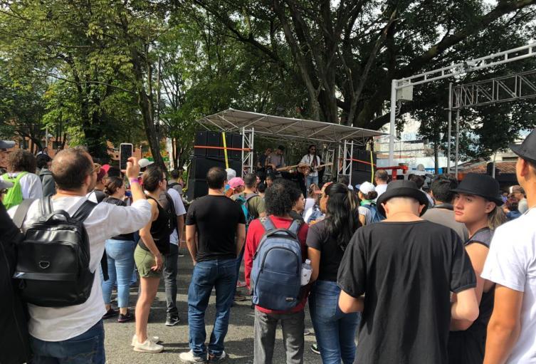 Jornada de marchas en Medellín