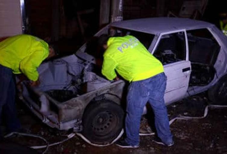 En este operativo dos personas fueron capturadas