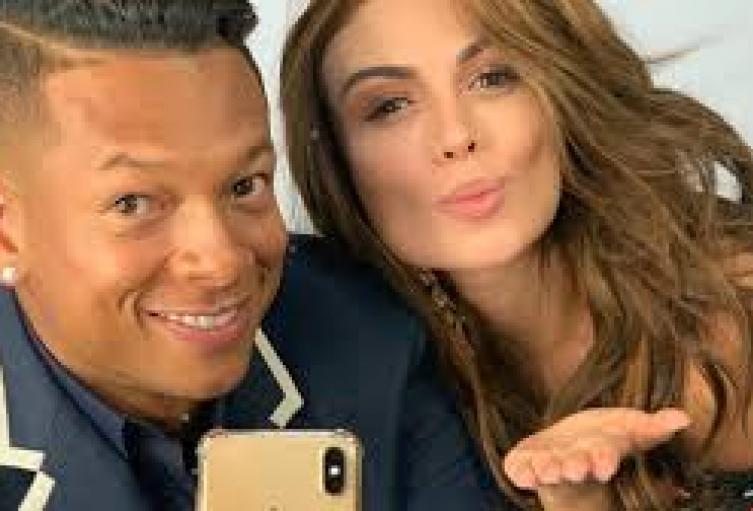 Freddy Guarin y Sara Uribe