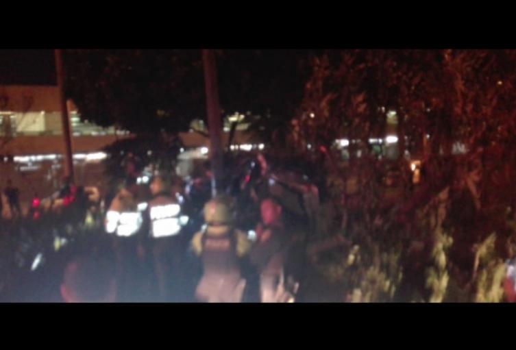 Uno de los vehículos involucrados en el siniestro se dio a la fuga.
