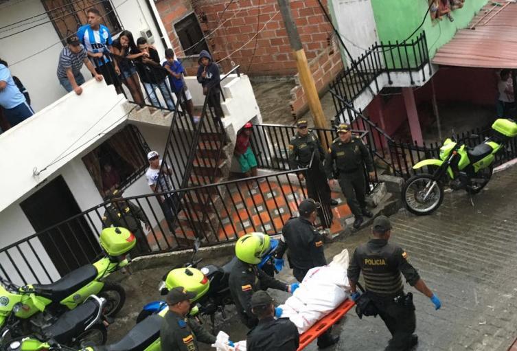 Entre las víctimas de la violencia en Medellín hay un venezolano.