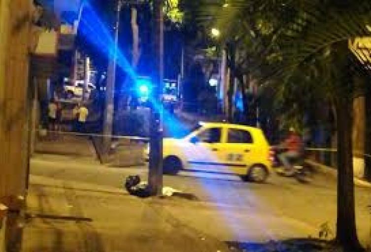 Asesinaron a joven venezolano en el centro de Medellín